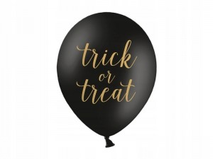Balony HALLOWEEN Trick or Treat 1 szt. 30 cm